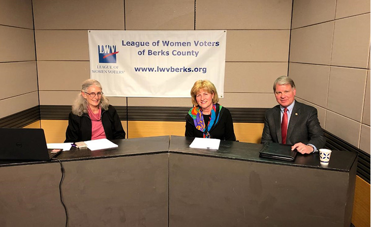 Sen. Dave Argall and I appeared on the League of Women Voters of Berks County's live BCTV program to give viewers an update on school property taxes.