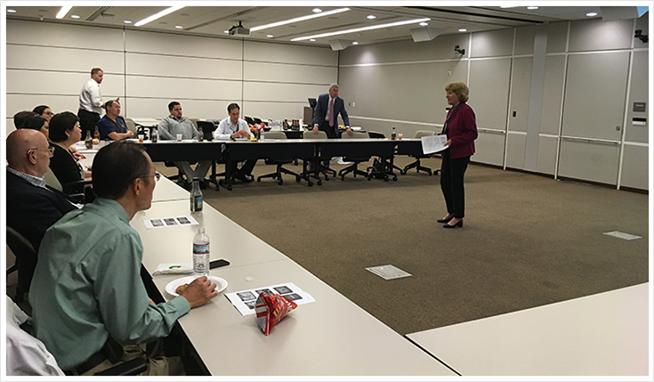 Senator Schwank participates in the Berks County Medical Society's Physician Advocacy Academy