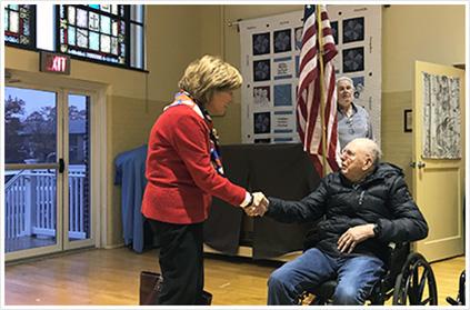Senator Judy Schwank visits the Lutheran Home