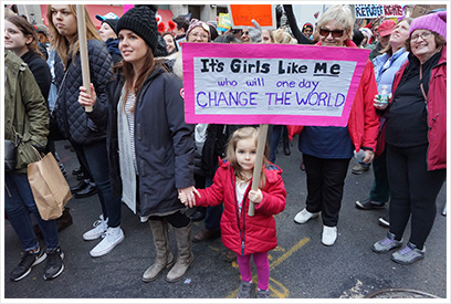 It's girls like me who will one day change the world.