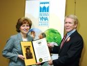 Dr. D. Michael Baxter Berks VNA 2012 Health Care Champion