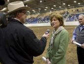 Senator Schwank participates in the 2012 Pennsylvania Farm Show.