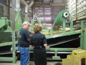 Senator Schwank tours Geisler Tree Farms