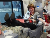 Miller Keystone Blood Drive :: February 18, 2012