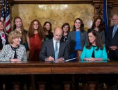 July 8, 2019: Senator Schwank applauds Gov. Tom Wolf as he signs law giving Pennsylvania Colleges, Universities a year To develop online sex assault reporting systems.