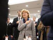 January 8, 2020: Senator Judy Schwank attends the 104th Farm Show.