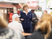 February 13, 2020: Senator Schwank hosts Constituents for Coffee at the Shillington Farmers Market.
