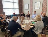 July 2021: Senator Schwank met with small business owners from West Reading to hear about the challenges they are facing as they recover from the effects of the pandemic.