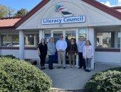 September 2021: Senator Schwank takes tour of the Literacy Council of Reading-Berks.