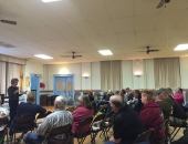 April 2, 2015: Senator Schwank hosted a town hall meeting in Centerport and invited the Public Utility Commission to talk about electric choice.