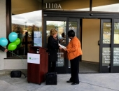 November 2018: I had the privilege of presenting Berks Community Health Center CEO Mary Kargbo with a senate certificate at the grand opening of their new location.