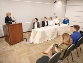 May 17, 2019: State Sen. Judy Schwank (D-Berks) held a press conference at Reading Hospital – Tower Health's campus to announce pending legislation that addresses school vaccinations. The bill would require completion of a standardized form for requesting exemptions from vaccination requirements for school-age children and require a consultation with a physician before any exemptions are approved.