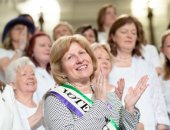 June 24, 2019: Senator Schwank joins colleagues in marking the 100th Anniversary of Women's Suffrage.