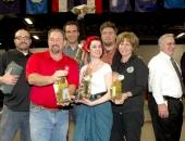 January 10, 2013: Senator Schwank Participates in the Celebrity Great Grape Stomp at the 2013 Pennsylvania Farm Show