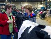 January 11, 2013: Senator Schwank Visits the 2013 Pennsylvania Farm Show