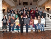 March 11, 2013: Students from Antietam High School visit the Capitol