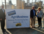 October 2017: Senator Schwank attends the ribbon cutting for Perdue Agribusiness' new soybean processing plant. The state of the art facility will undoubtedly help our Berks farmers by providing them with another processing option and lower costs because their beans won't need to be trucked out of state.