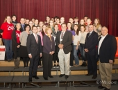 November 26, 2014: Senator Schwank congratulated Brandywine High School for receiving a $25,000 grant from State Farm's