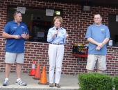 August 7, 2012: Senator Schwank attended the Central Berks National Night Out at the A-Field last night August 7th