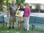 Senator Schwank presents Senate Citation recognizing the 140th anniversary of Crystal Cave