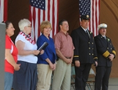 May 31, 2014: Fleetwood Fire Company's 100th Anniversary Ceremony.
