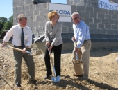 Groundbreaking of Berks Park