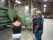Senator Schwank tours Geisler Tree Farms