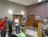 September 26, 2013: Senator Schwank held a town hall meeting in Morgantown for new residents of the 11th Senate District. The meeting is part of an ongoing series of town hall meetings the Senator hosts in various communities throughout the 11th Senate District.