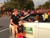 October 5, 2013: Senator Schwank participated in the Temple Halloween Parade.