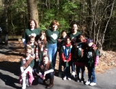 April 27, 2013: Senator Judy Schwank lead 20 volunteer boy scouts, girl scouts and their families in Nolde Forest's first tree planting initiative of the season. Over fifty trees were planted.  Found in picture – State Senator Judy Schwank, Girl Scout Troop 1724 and 1175