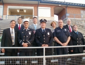 September 11, 2013: Senator Schwank attended a 9/11 memorial event at Exeter Area High School stadium. Organized by the students, the ceremony focused on how the nation came together during and since the tragic event.