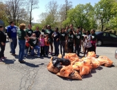 April 27, 2013: At Reading City Park, Senator Judy Schwank lead over 30 student volunteers and community leaders in collecting nearly forty bags of litter and debris. Students representing Reading High School's Key Club and Ecology Club, Penn State Berk's Society of Women Engineers,