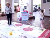 June 23, 2016: What better way to spend a few minutes in the Capitol than to play a life size game of Chutes and Ladders with some beautiful little ones?We were visited in the Capitol a few weeks ago by Mom's for Pre-K, as part of our focus and discussion around the importance of early childhood education.We know that when we invest in children, they succeed.Nothing could be more important than helping our kids reach their dreams and achieve their full potential! And that's just what this life size Chutes and Ladders game was there to show us – how quality, affordable early learning helps children win.I was thrilled to play the game with six-year-old Gianna who was there to help us all learn firsthand what early childhood education means to her and her peers.Thanks for visiting Gianna!