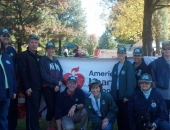 October 21, 2012: Berks County Heart and Stroke Walk in Leesport
