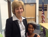September 18, 2014: I recently talked to 3rd and 4th graders at Owatin Creek Elementary about the importance of government. During my visit, I was privileged to meet 3rd grader Aliya Wise, who is the Miss Pennsylvania Jr., Preteen Queen Division 1. Aliya will be representing PA and Owatin at nationals in Disneyland this November.