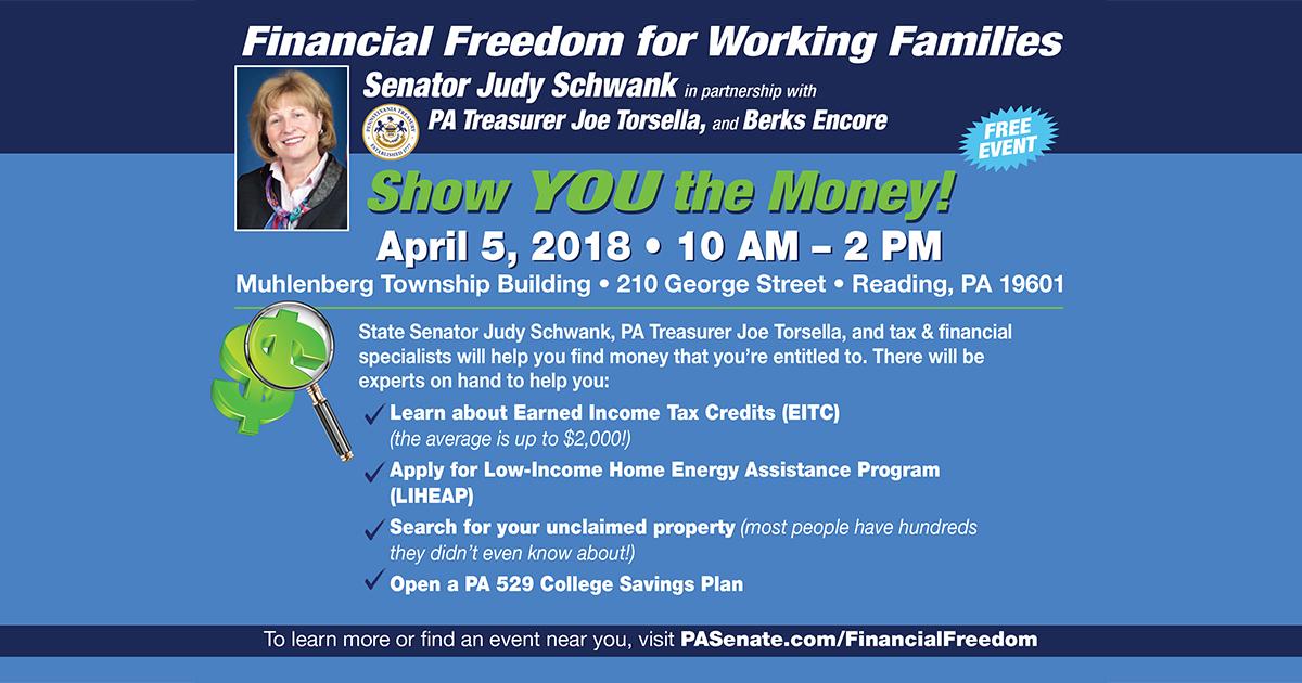 Schwank Hosting Tax Workshop for Working Families