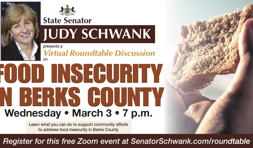 Roundtable Discussion on Food Insecurity in Berks